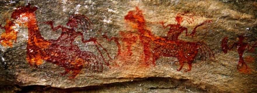 Rock Art in Panna - What does it mean to the people who live there?
